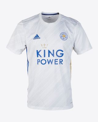 Timothy Castagne  - Leicester City White Away Shirt 2020/21