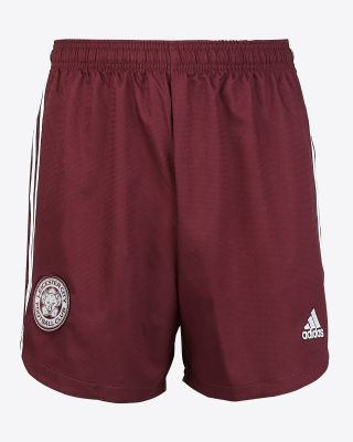 Leicester City Maroon Away Shorts 2020/21 - Kids