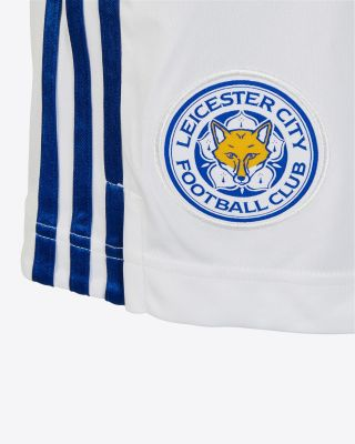 Leicester City White Away Shorts 2020/21