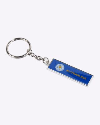 Leicester City Oblong #BEFEARLESS Keyring