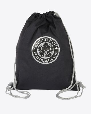 Leicester City Black Gym Bag