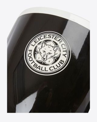 Leicester City Black Etched Crest Mug