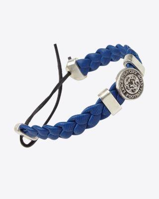 Leicester City Blue Crest Slider Bracelet