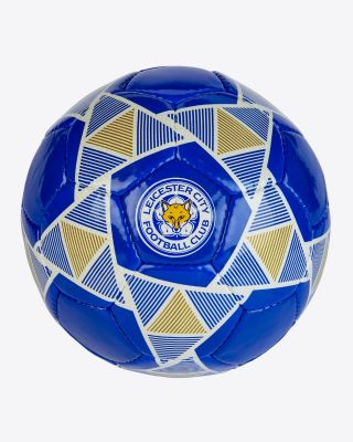 Leicester City Size 5 Home Kit Football