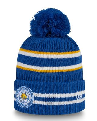 New Era Blue Cuff Bobble Knit