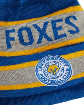 New Era Blue Foxes Cuff Bobble Knit