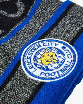 Leicester City Grey Bobble Hat