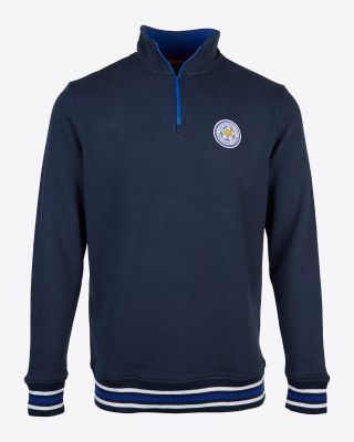 Leicester City Mens Bottesford 1/4 Zip Sweat