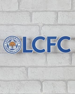Leicester City Car Banner Sticker