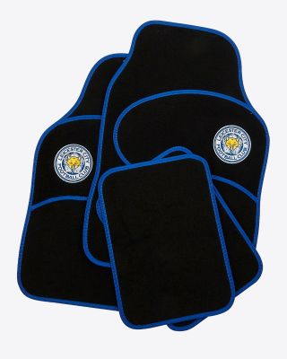 Leicester City 4 Piece Car Mat Set