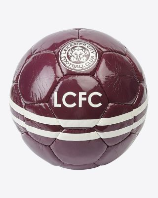 Leicester City Maroon Away Kit Football