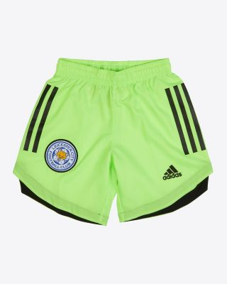 Leicester City Goalkeeper Shorts Green 2020/21 - Kids