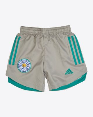 Leicester City Goalkeeper Shorts Grey 2020/21 - Kids