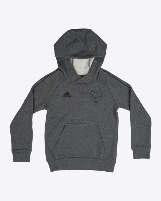 Leicester City Core Grey Hoody - Kids