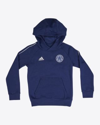 Leicester City Core Navy Hoody - Kids