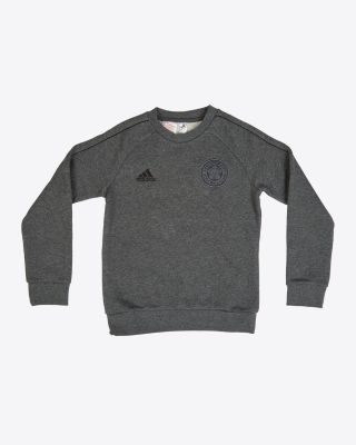 Leicester City Core Grey Sweat Top