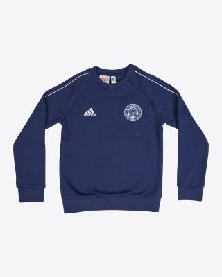 Leicester City Core Navy Sweat Top - Kids