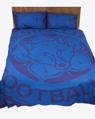 Leicester City Large Crest Double Duvet