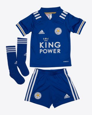 Jonny Evans - Leicester City King Power Home Shirt 2020/21 - Mini Kit