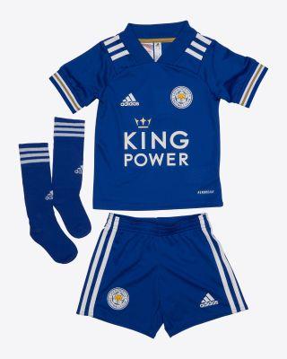 Islam Slimani - Leicester City King Power Home Shirt 2020/21 - Mini Kit