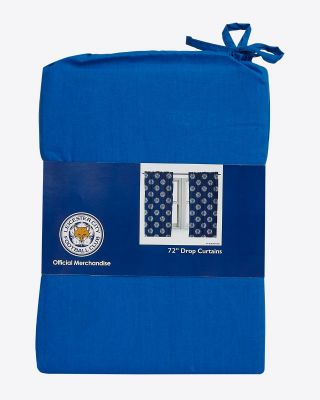 "Leicester City 72"" Small Crests Curtians"