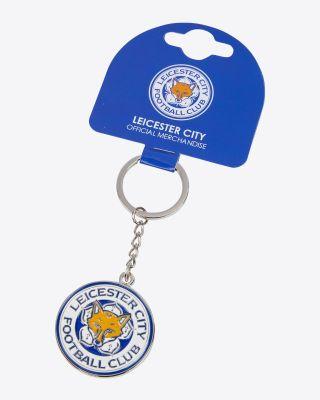 Leicester City Enamel Crest Keyring