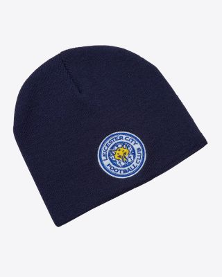 Leicester City Navy Essential Beanie