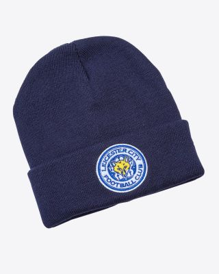 Leicester City Navy Bronx Beanie Hat