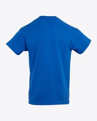 Leicester City Mens Blue Running Fox T-Shirt