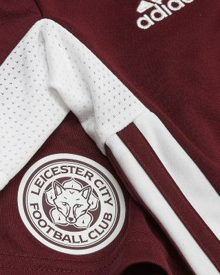 Leicester City Maroon Away Shirt 2020/21 - Mini Kit