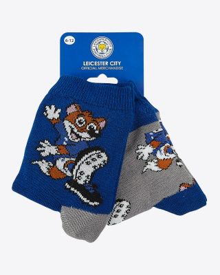 Leicester City Kids Filbert Twin Pack Socks