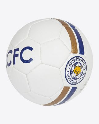 Leicester City White Football - Size 3 - Size 3