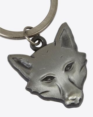 Leicester City Fox Head Keyring