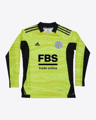 Kasper Schmeichel - Leicester City Goalkeeper Shirt Yellow 2021/22 - Kids