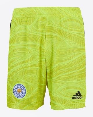 Leicester City Goalkeeper Shorts Yellow 2021/22