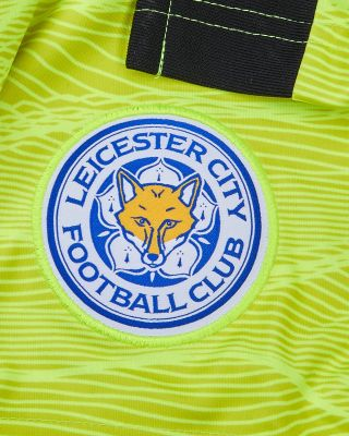 Leicester City Goalkeeper Shorts Yellow 2021/22 - Kids