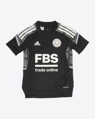 2021/22 European Black Training T-Shirt - Kids