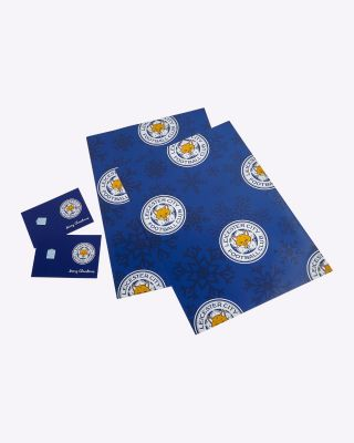 Leicester City Christmas Giftwrap Pack