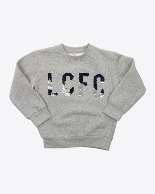Leicester City Girls Heliador Grey Sweater