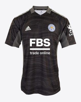 Kasper SCHMEICHEL - Leicester City S/S Goalkeeper Shirt Black 2021/22