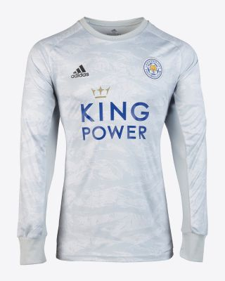 2019/20 adidas Leicester City Junior Grey Goalkeeper Shirt