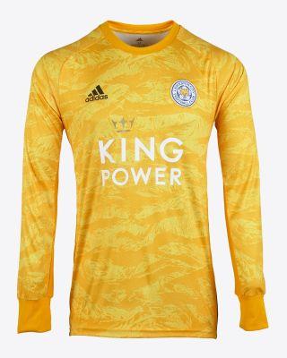 2019/20 adidas Leicester City Junior Gold Goalkeeper Shirt