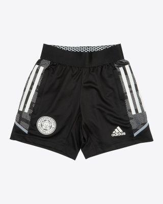 2021/22 European Black Training Shorts - Kids