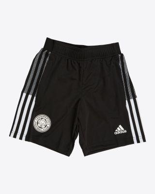 2021/22 Black Training Shorts - Kids