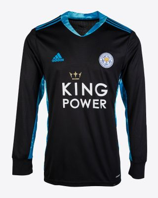 Eldin Jakupovic - Leicester City King Power L/S Goalkeeper Shirt Black 2020/21