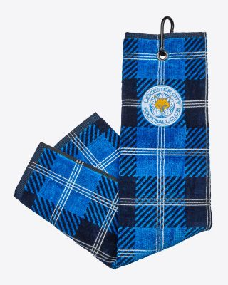 Leicester City Jaquard Golf Towel
