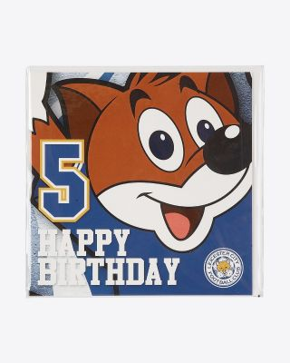 Leicester City Greetings Card - Assorted Designs - AGE 5