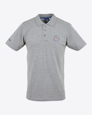 Leicester City Mens Grey Capsule Polo