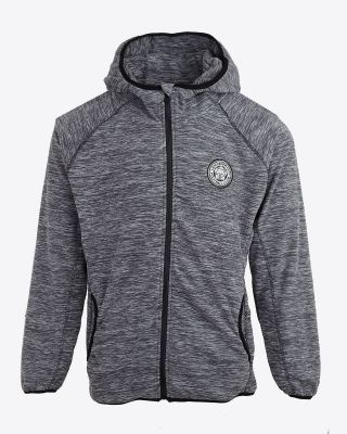 Leicester City Womens Grey/Black Silverston Fleece Jacket