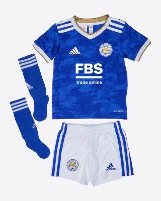 Leicester City Home Shirt 2021/22 - Mini Kit